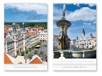 Česká republika 2016 - nástěnný kalendář