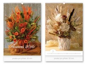 Flowers 2016 - nástěnný kalendář