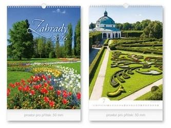 Zahrady 2016 - nástěnný kalendář
