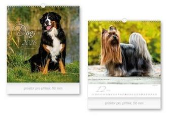 Dogs 2016 - nástěnný kalendář