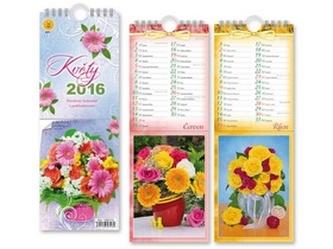 Květy 2016 - nástěnný kalendář