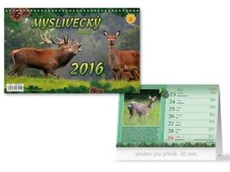 Myslivecký 2016 - stolní kalendář