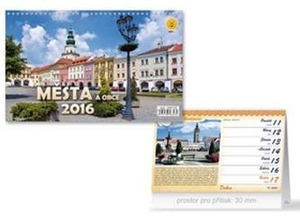 Města a obce 2016 - stolní kalendář