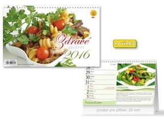 Zdravé recepty 2016 - stolní kalendář