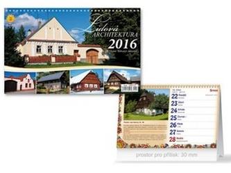 Lidová architektura 2016 - stolní kalendář