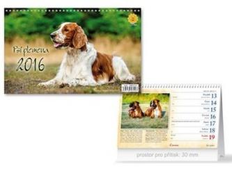 Psí plemena 2016 - stolní kalendář