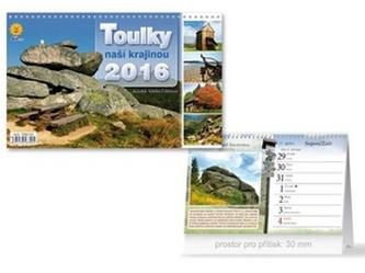 Toulky naší krajinou 2016 - stolní kalendář