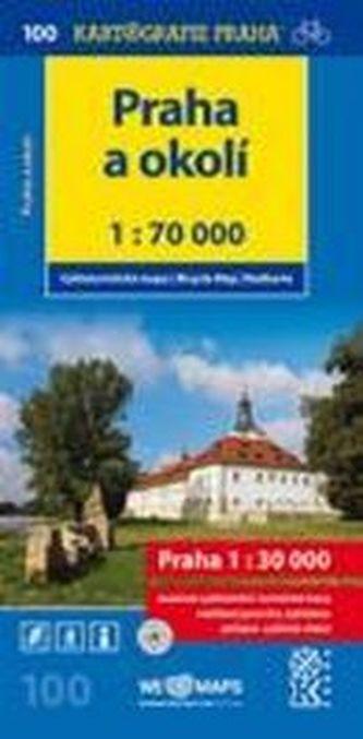 Praha a okolí 1:70 000