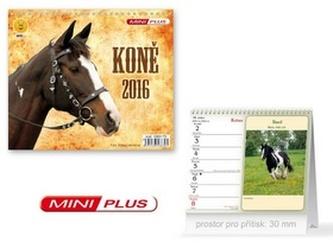 Koně 2016 - stolní kalendář