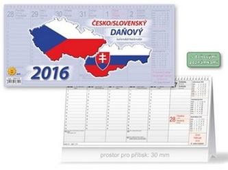 Česko/slovenský daňový 2016 - stolní kalendář