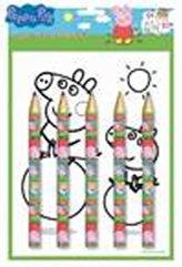 Peppa Pig - Maxi pastelky set