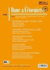 Dane a účtovníctvo 8-2015