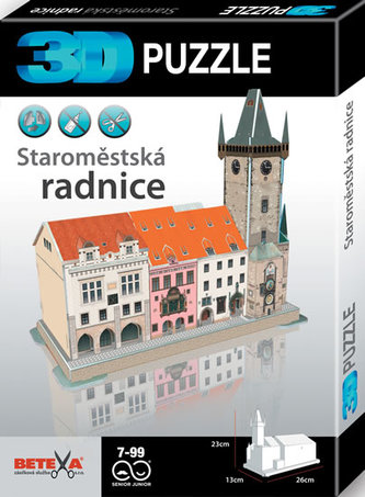Staroměstská radnice - 3D puzzle - neuveden