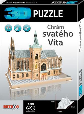 Chrám sv. Víta - 3D puzzle - neuveden