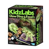 Zářící dinosauři a fosílie - velký set