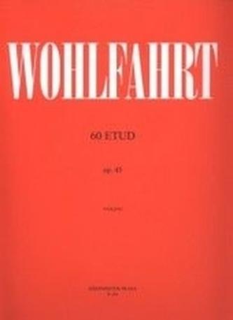 60 etud op. 45 - Wohlfahrt, Franz