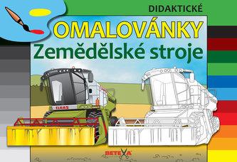 Zemědělské stroje - Didaktické omalovány - neuveden
