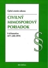 Civilny mimosporový poriadok, Úzz, 2015