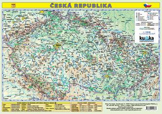 Česká republika - mapa A3 lamino - Petr Kupka