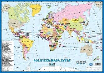 Politická mapa světa A3
