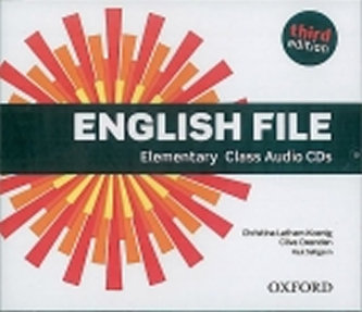 English File Third Edition Elementary Class Audio 4 CDs