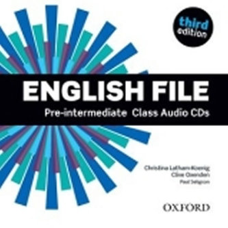 English File Pre-intermediate Class Audio CDs - Christina Latham-Koenig; Clive Oxenden; P. Selingson
