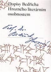 Dopisy Bedřicha Hrozného literárním osobnostem