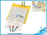 Mimoň kreslící tabulka s fixami Minions v krabičce