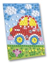 Mozaikový obrázek Auto