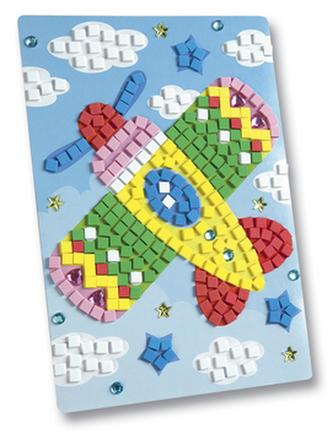 Mozaikový obrázek Letadlo