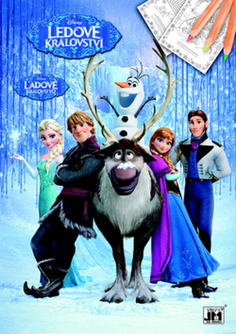 Ledové království - Omalovánky A4