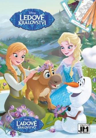 Ledové království - Omalovánky A5+