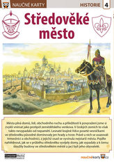 Naučné karty Středověké město