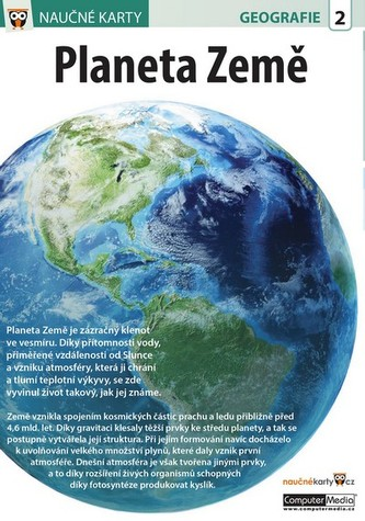 Naučné karty Planeta Země - neuveden