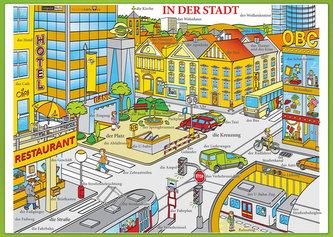 Karta In der Stadt