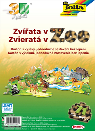 3D model Zvířata v ZOO