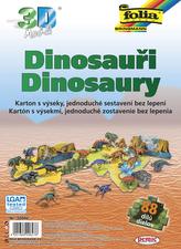 3D model Dinosauři