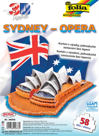 3D model Sydney – Opera