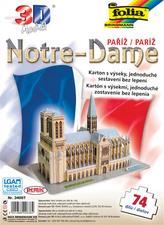 3D model Notre-Dame Paříž