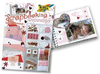 Scrapbooking set Láska