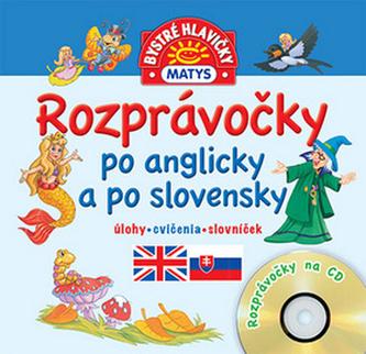 Rozprávočky po anglicky a po slovensky + CD - autor neuvedený