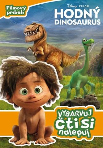 Hodný dinosaurus - Filmový příběh - Vybarvuj, čti si, nalepuj