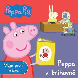 Peppa v knihovně - Moje první knížka