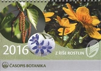 Kalendář Z říše rostlin 2016 - stolní