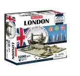 Puzzle 4D - Londýn 68x35 cm