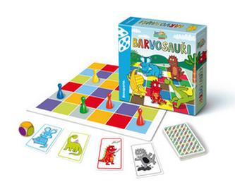 Společenská hra BARVOSAUŘI - neuveden