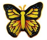 Svítící polštář Motýl tmavý