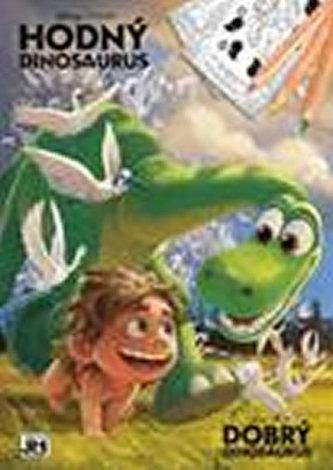 Hodný dinosaurus - Omalovánky A4