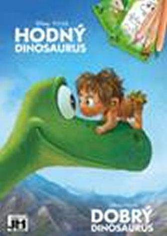 Hodný dinosaurus - Omalovánky A5