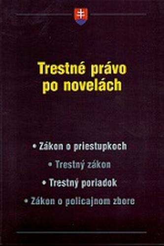Trestné právo po novelách
